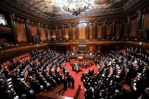 Parlamento italiano intermedia channel for Parlamento e senato