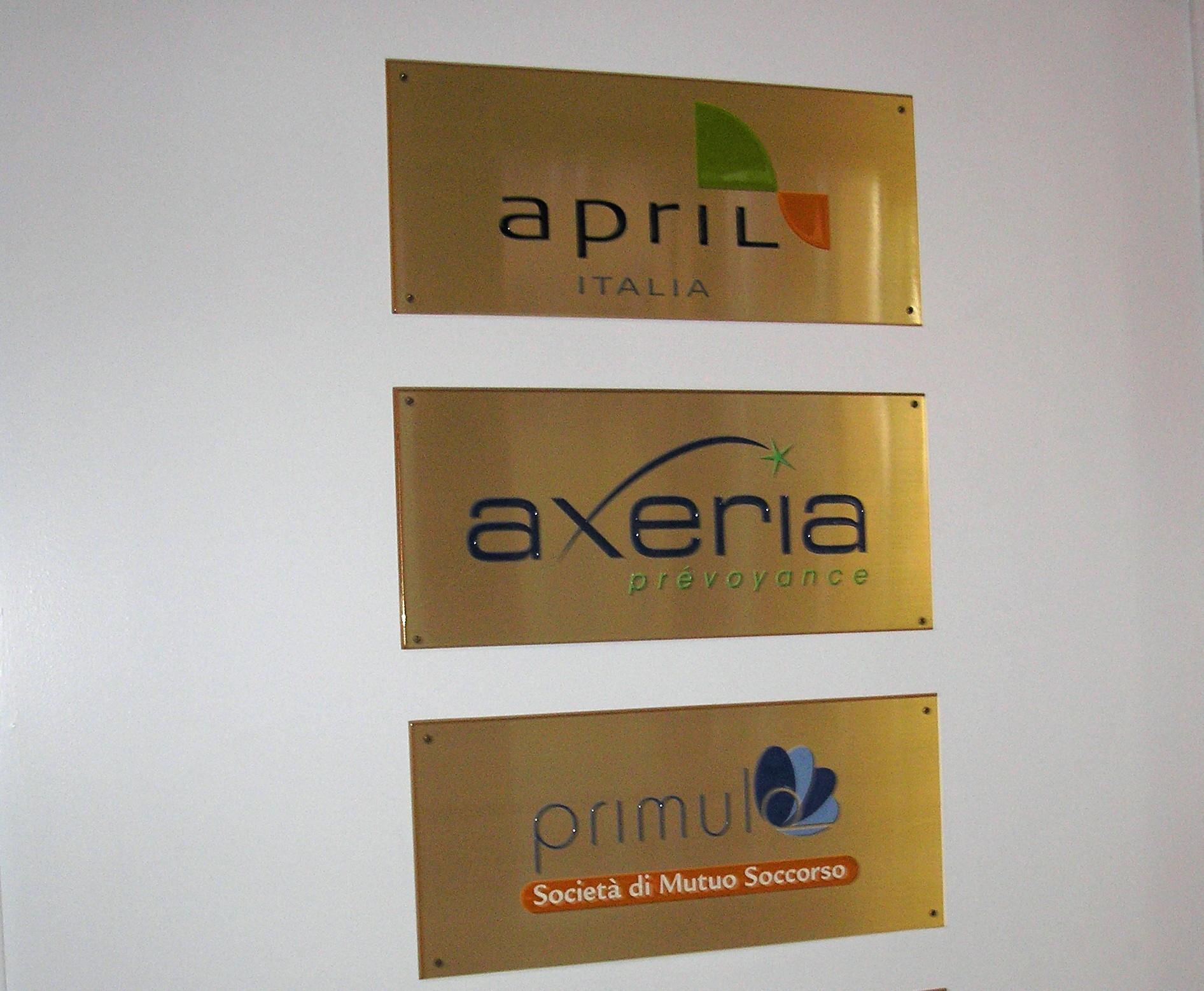 La sede di April Italia