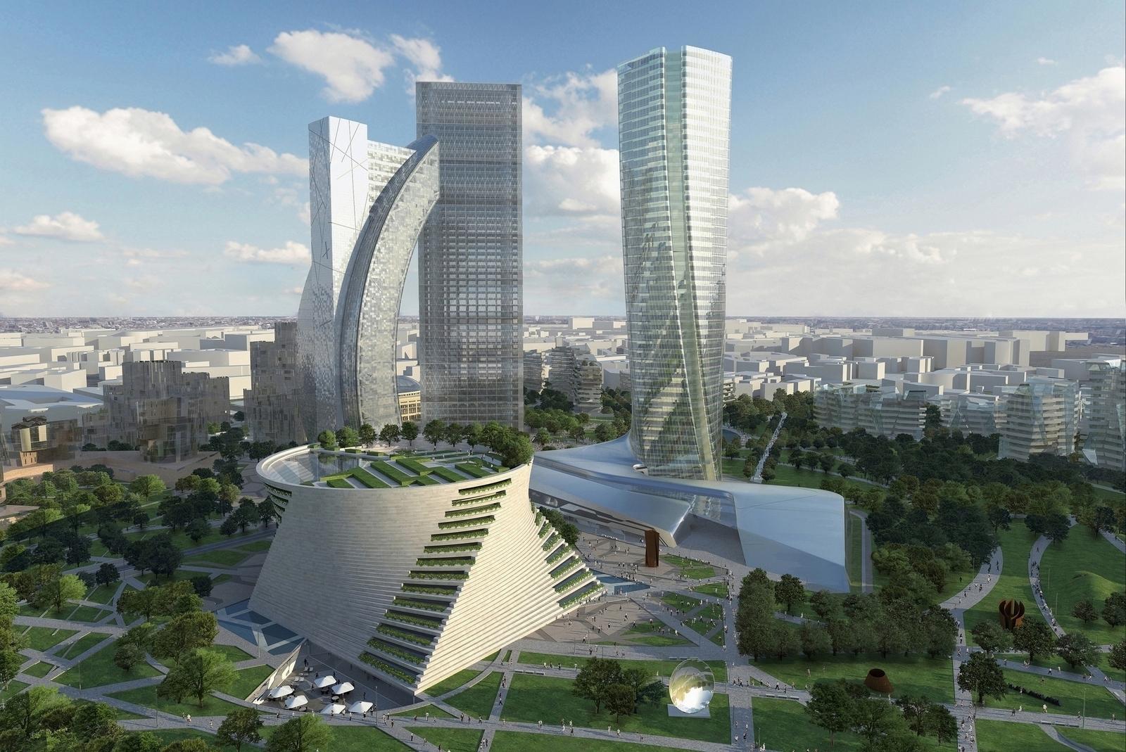 Citylife generali sposter a milano anche gli uffici di for Design render milano