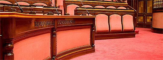 Senato Repubblica - Banco Commissioni Imc