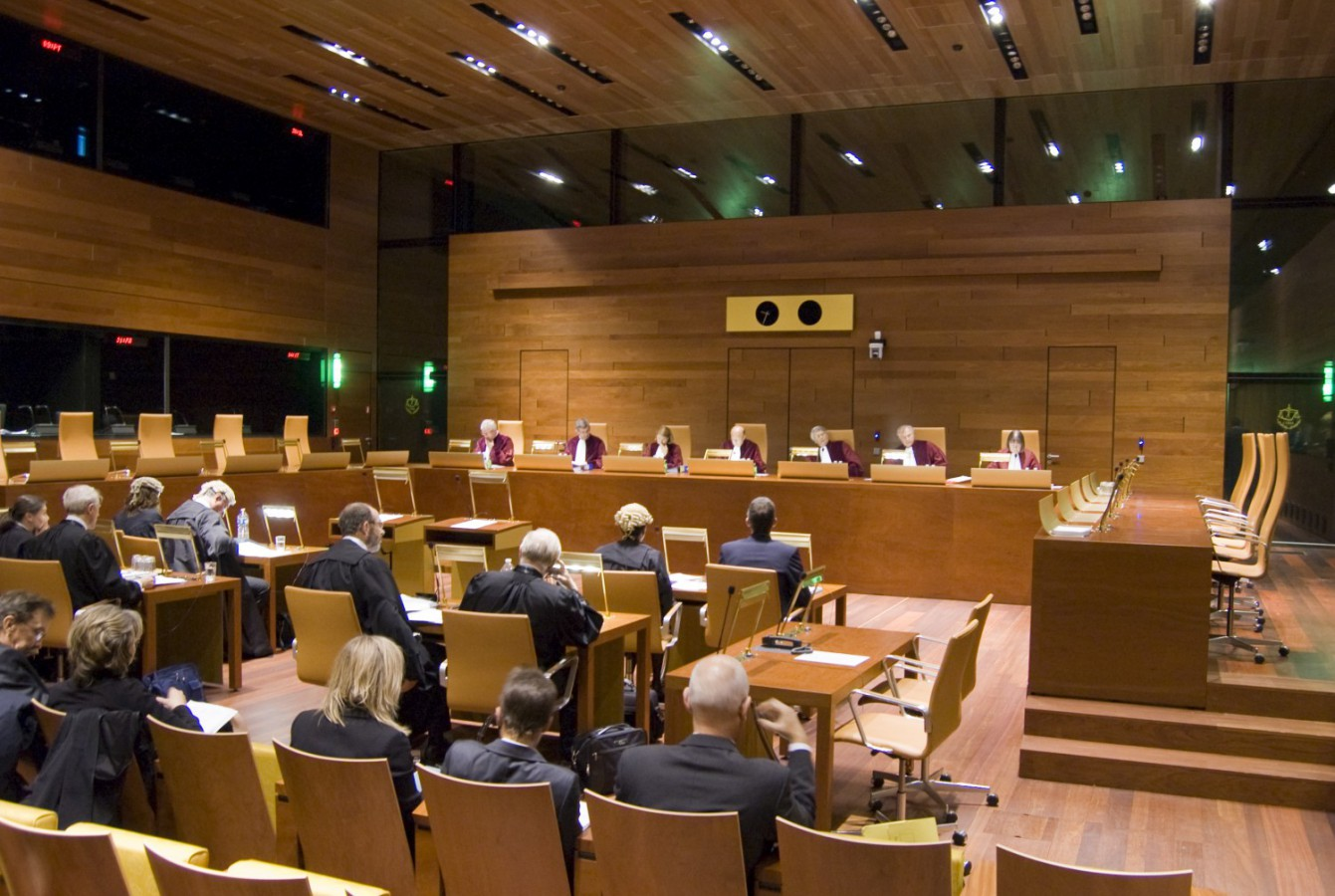 Corte Giustizia Europea - Seduta (Foto Corte di giustizia dell'Unione europea) Imc