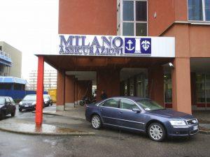 La sede di Milano Assicurazioni Imc