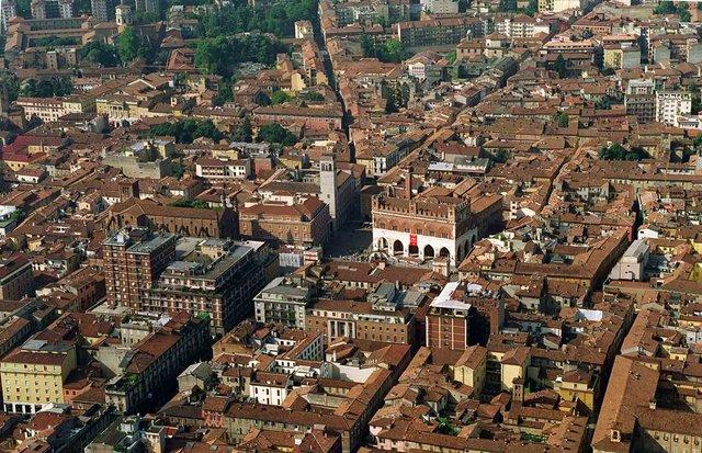Piacenza - Veduta Aerea Imc