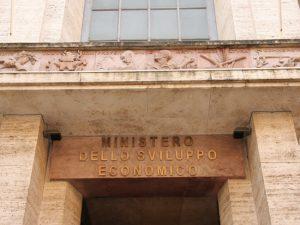 Ministero Sviluppo Economico - Facciata Imc