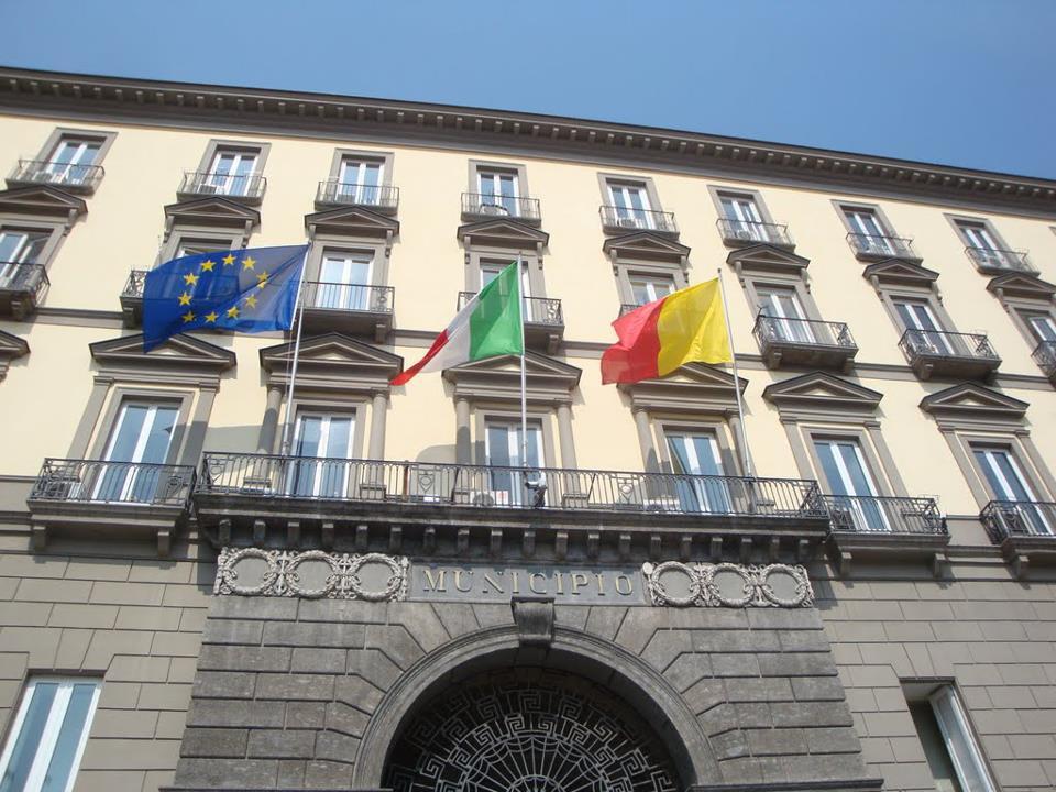 La sede del Comune di Napoli Imc