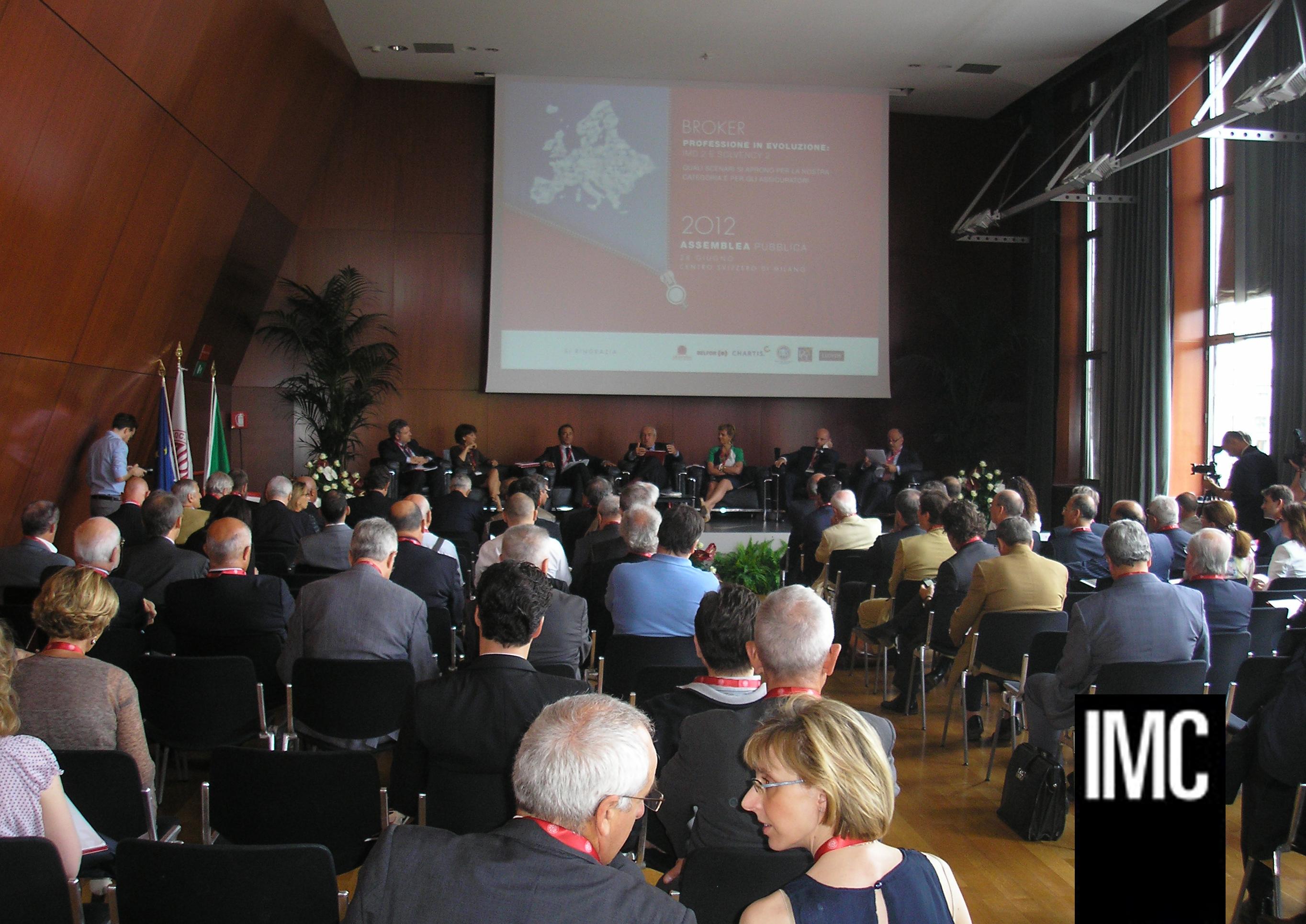 Assemblea annuale 2012 Aiba IMC