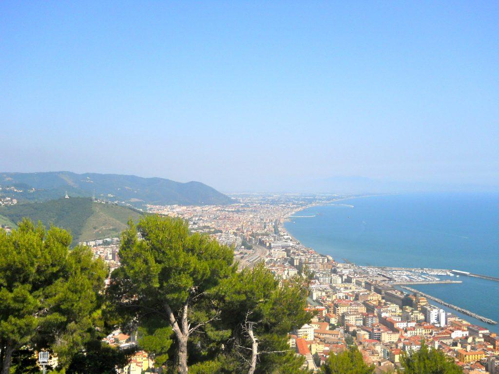 Una veduta di Salerno Imc