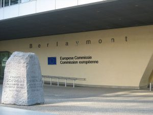Commissione Europea - Ingresso Palazzo Berlaymont Imc