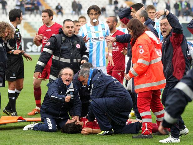 La tragica morte del calciatore Morosini