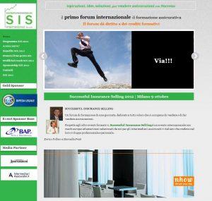 L'home page del sito Successful Insurance Selling