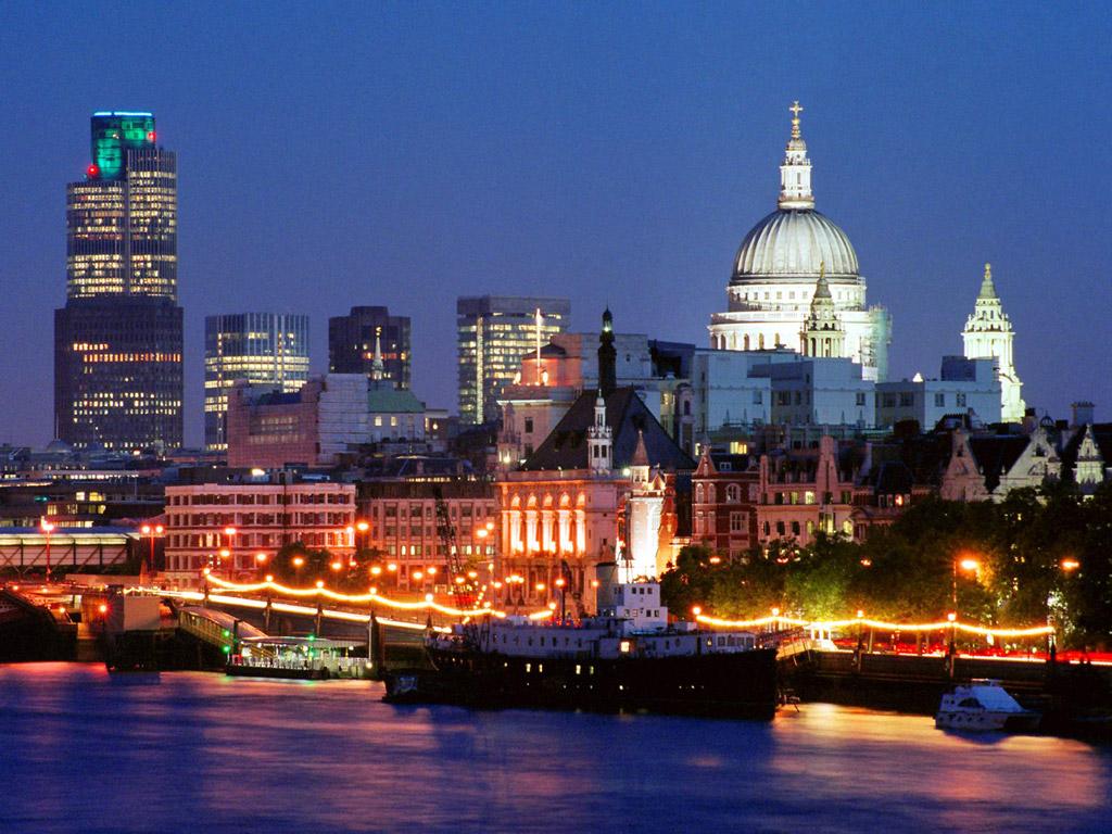 Una veduta di Londra Imc