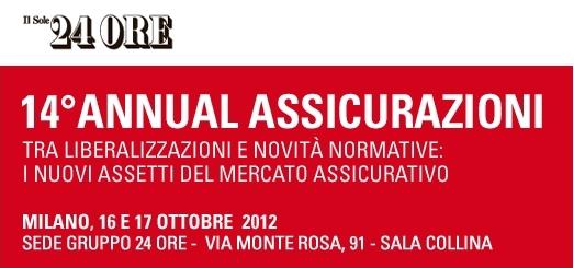 Annual Assicurazioni 2012 Imc