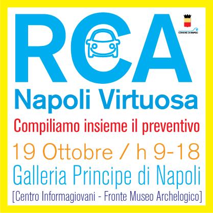 Locandina Click Day Rca Napoli Virtuosa