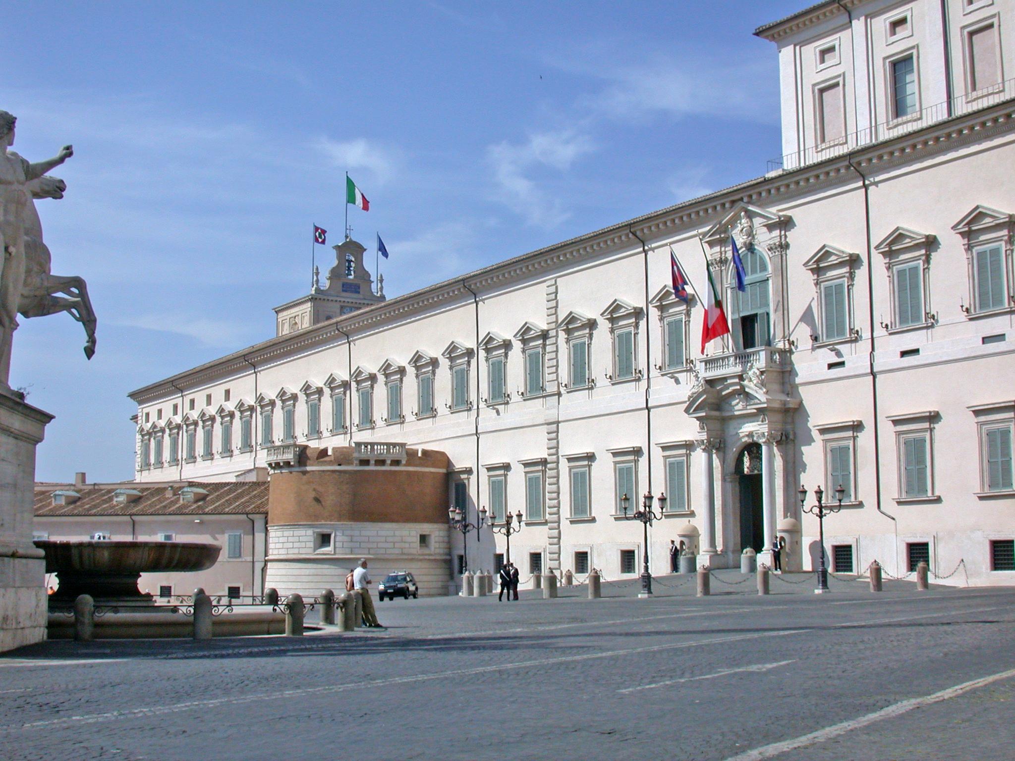 Roma - Palazzo Quirinale (Presidenza Repubblica) Imc