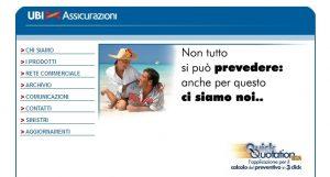 Ubi Assicurazioni - Homepage sito web Imc