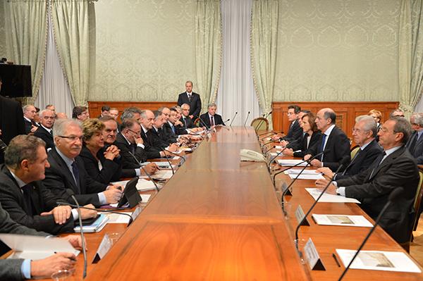 Incontro Governo - Parti Sociali accordo produttività Imc