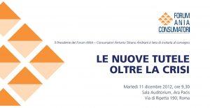 Forum Ania Consumatori Welfare 2012 Imc