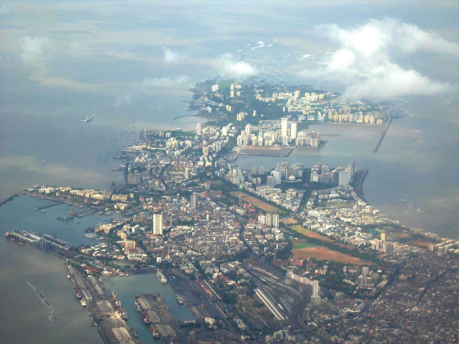 Mumbai - Vista dall'alto Imc