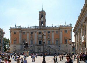 Roma - Palazzo Senatorio Campidoglio Imc