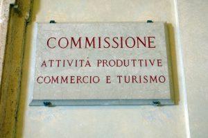 X Commissione Attività Produttive Camera Imc (Foto Umberto Battaglia)