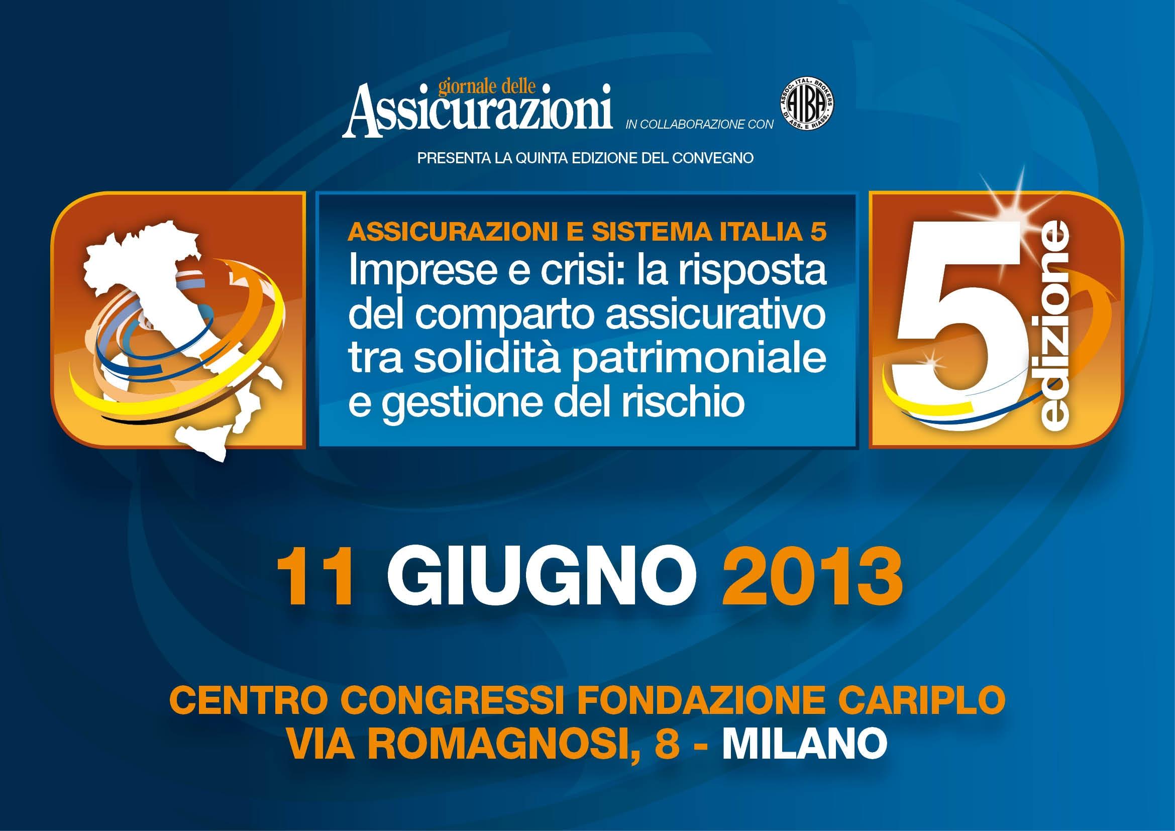Assicurazioni e Sistema Italia 2013 (2)