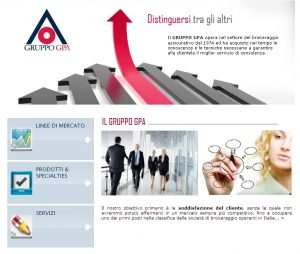 Gruppo GPA - Homepage sito web Imc