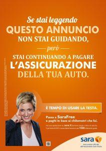 Sara Assicurazioni - Campagna pubblicitaria 2013 Imc