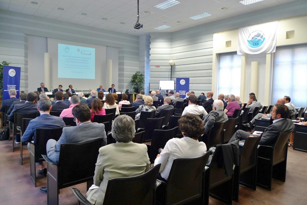 Convegno UEA Matera - Sala lavori Imc