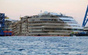 Costa Concordia - Rotazione Imc