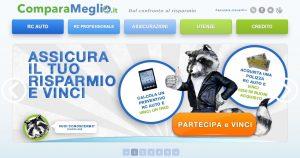 Comparameglio.it - Homepage sito web Imc