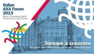 Italian AXA Forum 2013