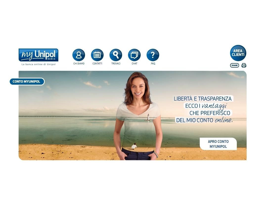MyUnipol Banca - Homepage Sito web (2) Imc