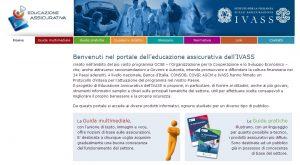 Educazione assicurativa IVASS - Homepage sito web Imc