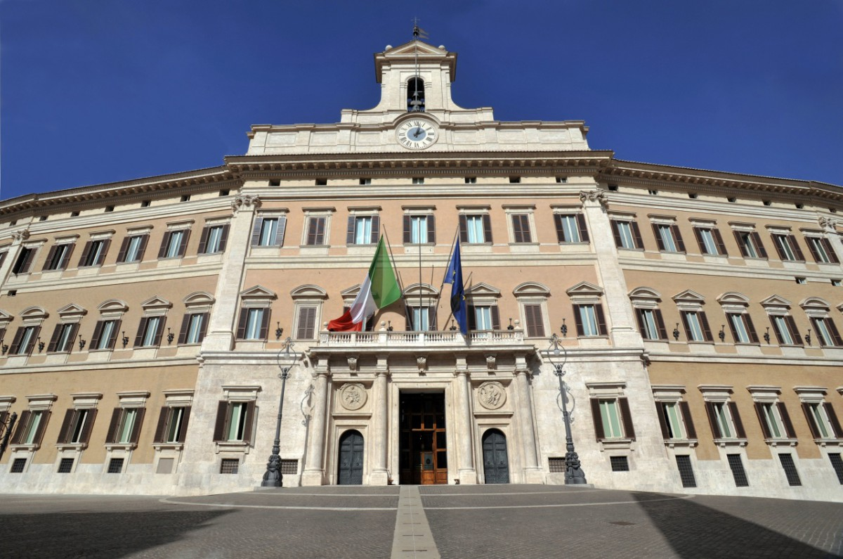 Camera Deputati - Palazzo Montecitorio (Foto Umberto Battaglia) Imc