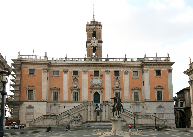 Roma - Palazzo Senatorio Campidoglio (2) Imc