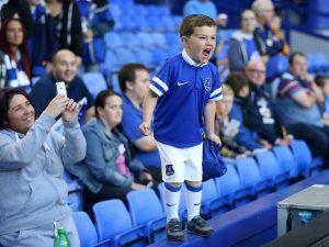 Everton - Giovane tifoso Imc