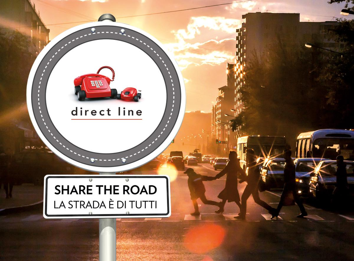 Direct Line - Share the Road Imc