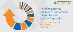 Consumers Forum - V Rapporto Conciliazioni - Programma Imc