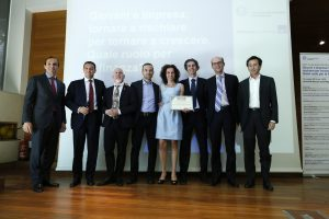 Fellowship for Longer Lives - Premiazione Team U-Life (Foto Ansa - Guido Montani) Imc