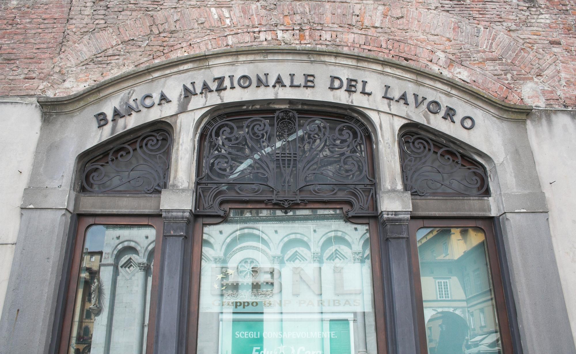 BNL Banca Nazionale del Lavoro Edificio storico Imc