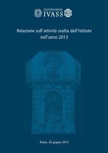 IVASS - Relazione 2013