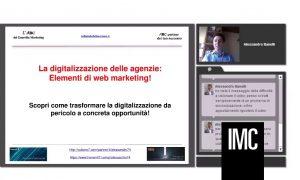 Web Conference - Digitalizzazione di Agenzia IMC