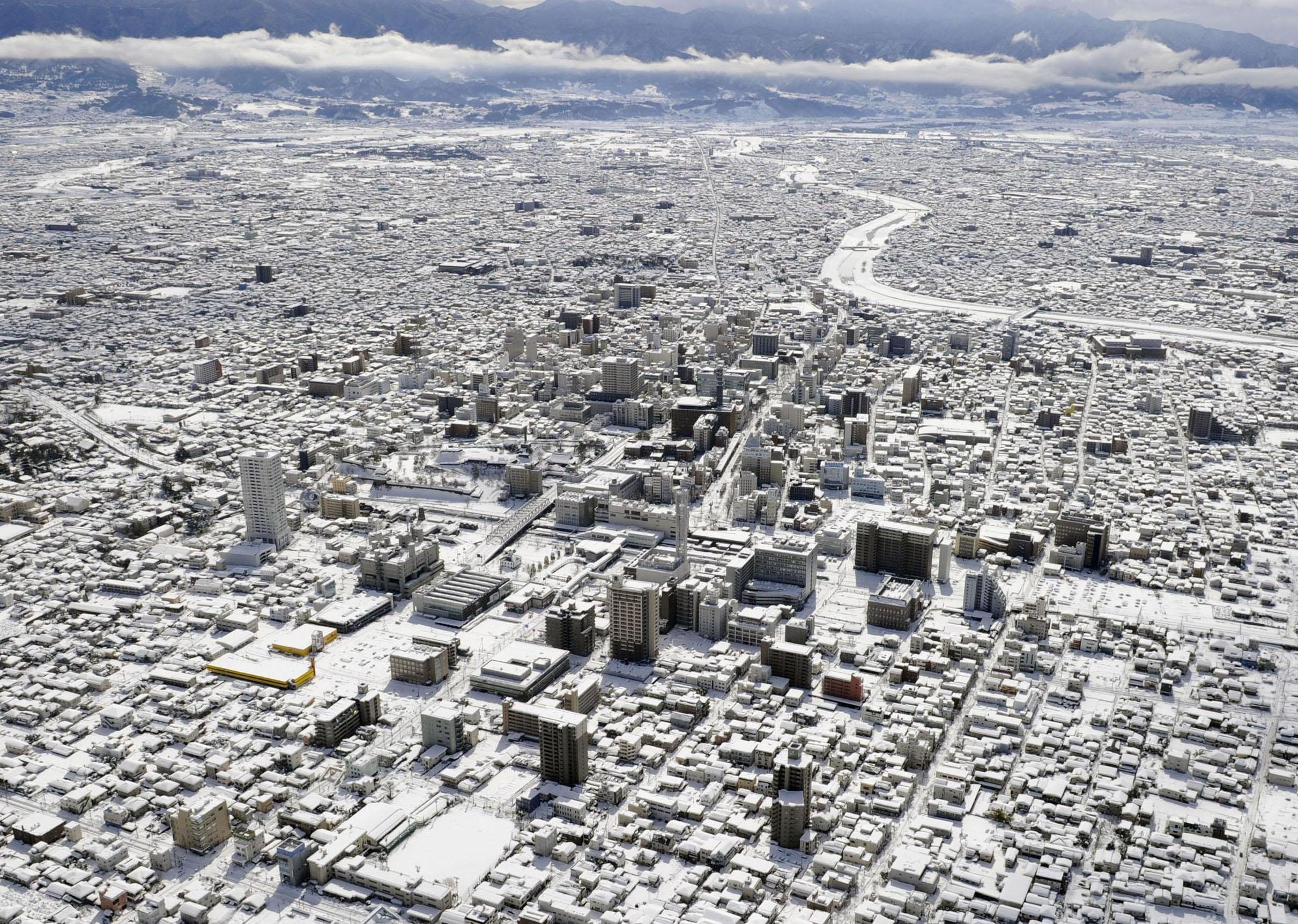 Giappone - Nevicate 2014 Imc