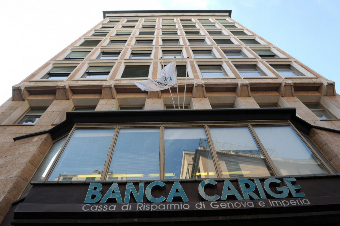 Banca Carige (Foto Ansa-Luca Zennaro) Imc