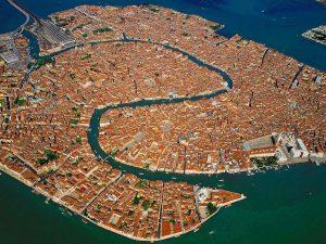 Venezia - Panorama aereo Imc