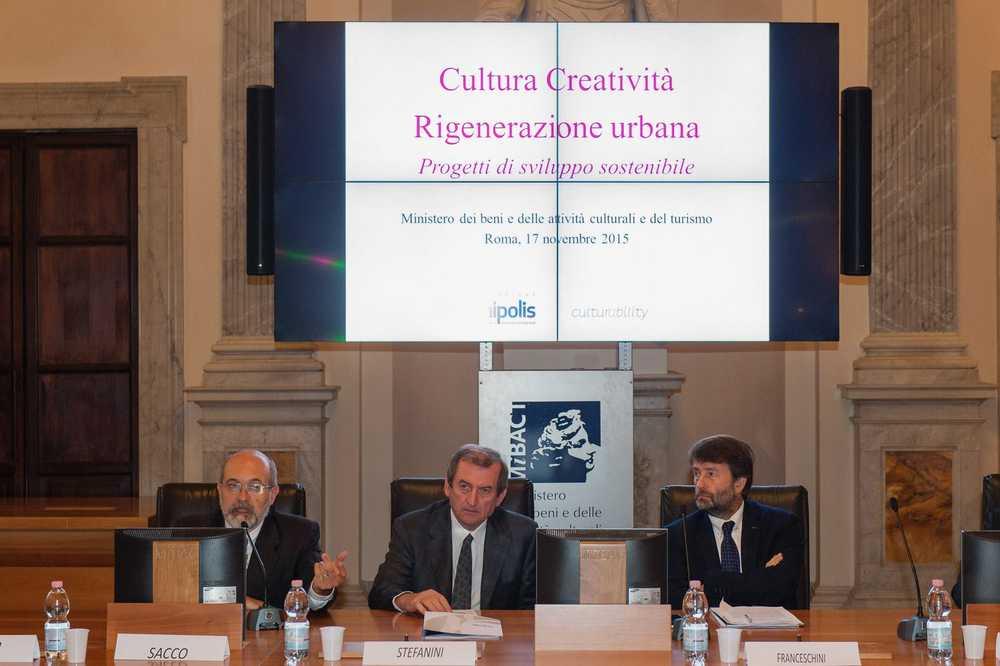 Fondazione Unipolis - Culturability - Ministero Beni Culturali novembre 2015 (Foto Ministero dei beni e delle attività culturali) Imc