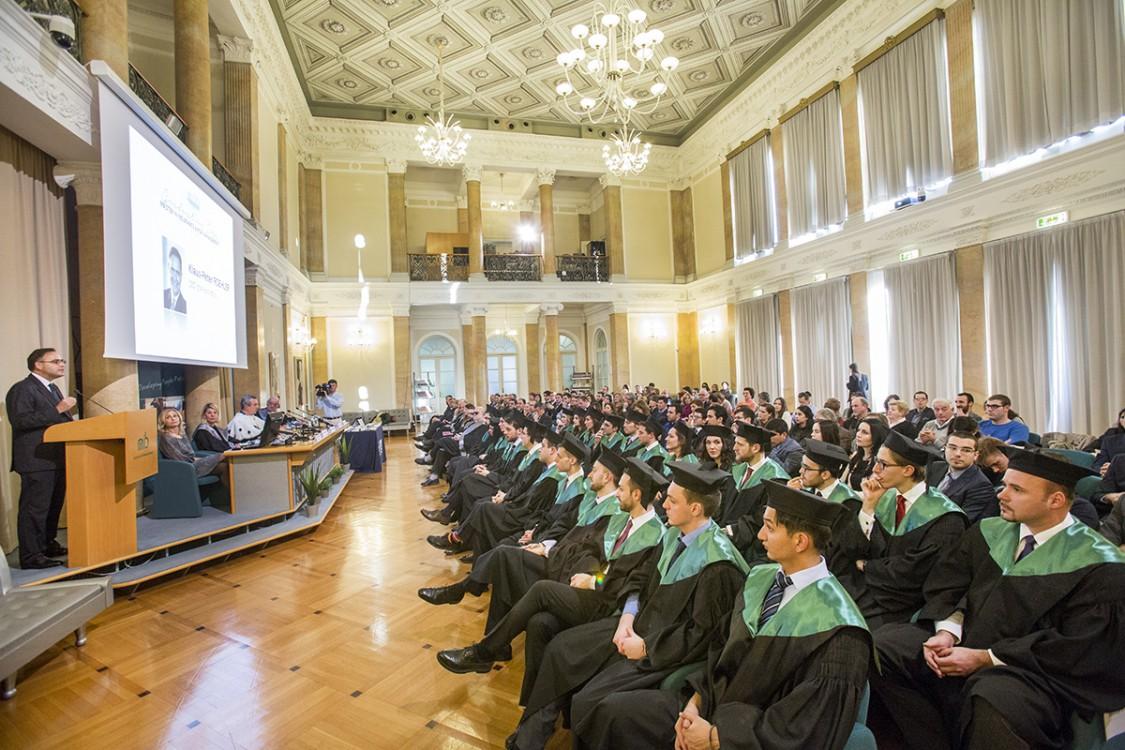 MIRM Graduation Day - MIB di Trieste - Intervento di Klaus Peter Roehler Imc