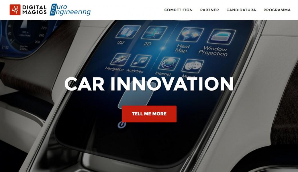 car innovation 2016 la call for ideas per le startup del settore automotive intermedia channel. Black Bedroom Furniture Sets. Home Design Ideas