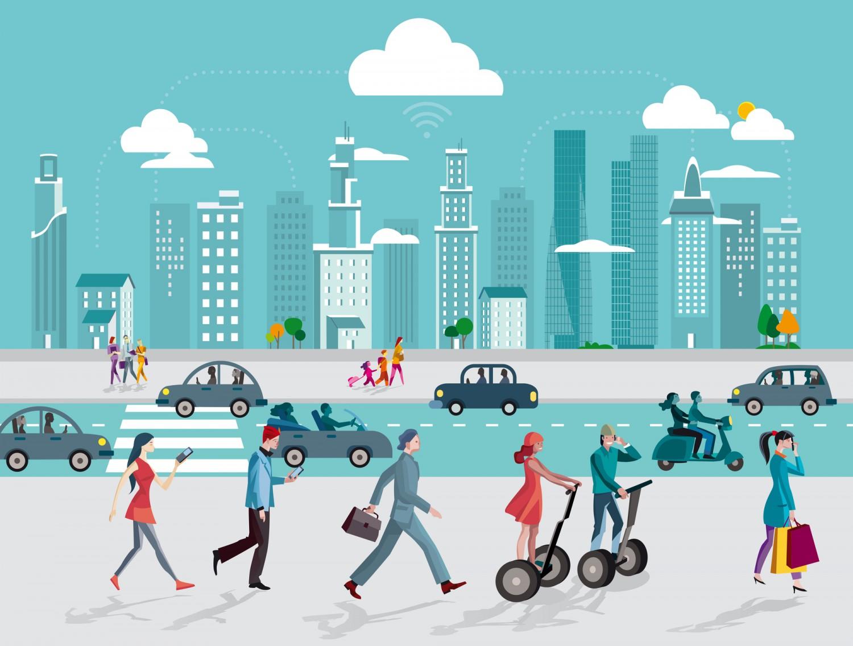 Smart City - Città intelligente - Tecnologia Imc