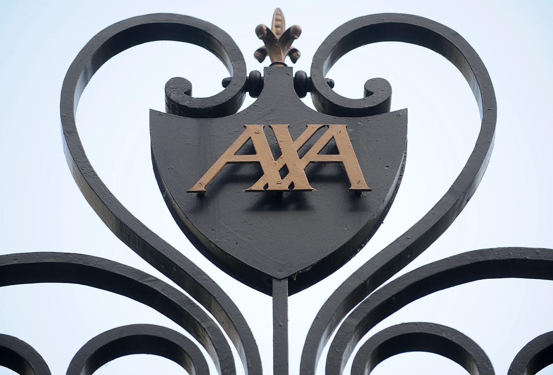 AXA - Dettaglio ingresso quartier generale Parigi (Antoine Antoniol/Bloomberg) Imc